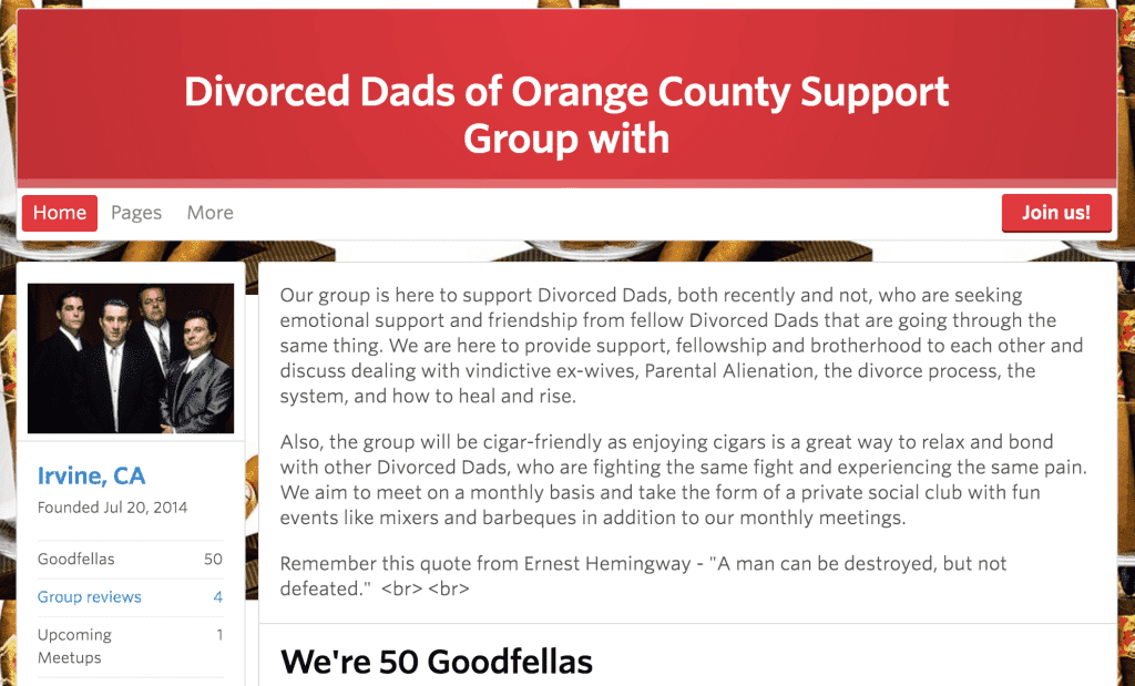 divorced dads of orange county support group
